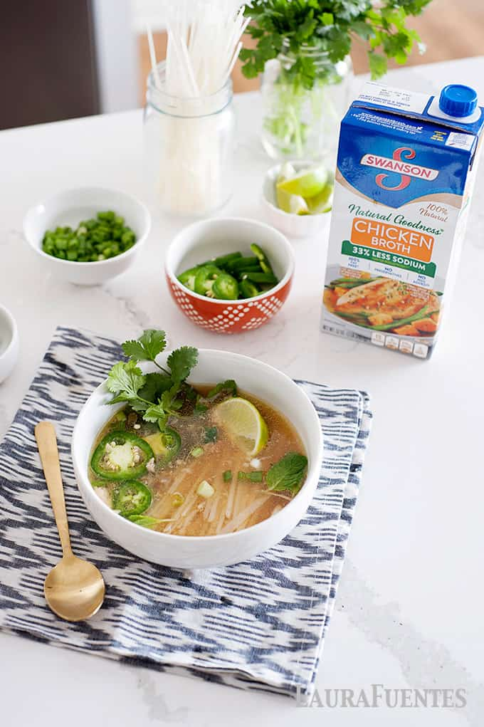 easy and healthy homemade slow cooker pho recipe