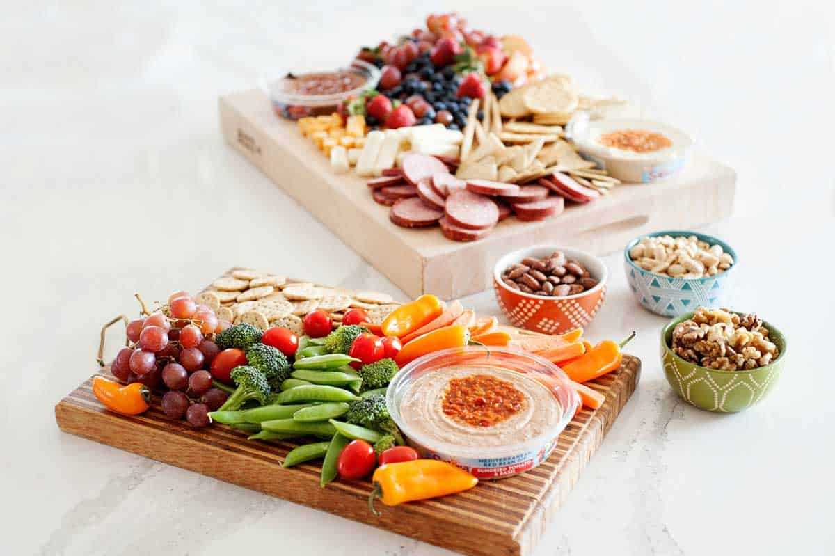 sweet and savory easy antipasto platter for parties and snacks