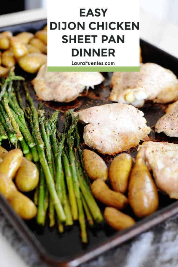 Dijon Sheet Pan Chicken
