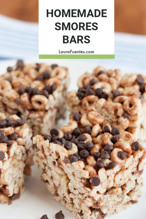 Snack Time! No Bake Cereal Bars