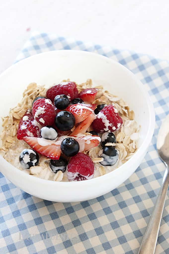 No cook healthy oatmeal