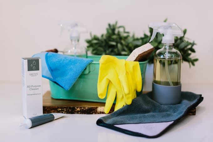 My Back to School Kitchen Cleaning Routine