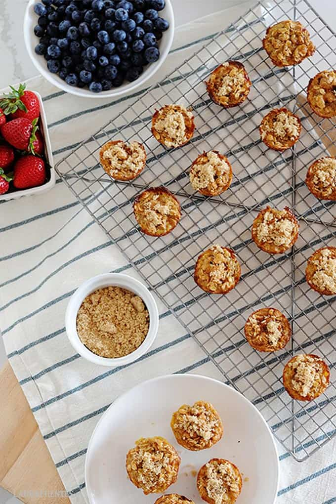 brown sugar cinnamon oatmeal bites