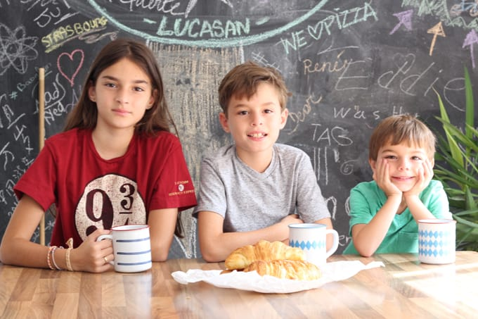 Back to School and how we do homeschooling with 3 kids