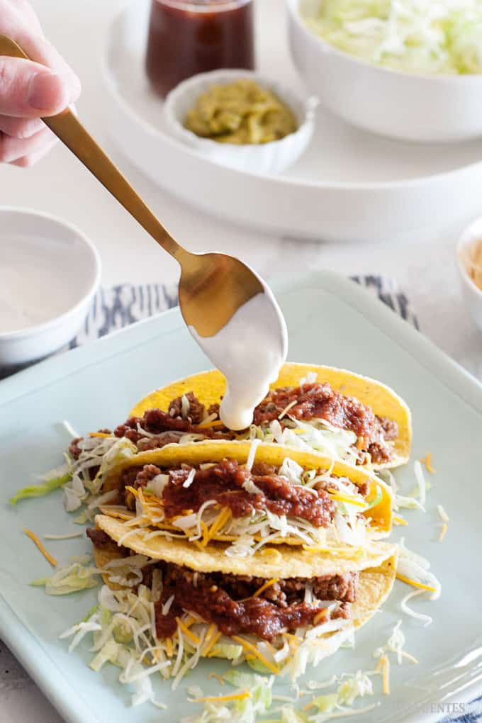 All American Beef Tacos