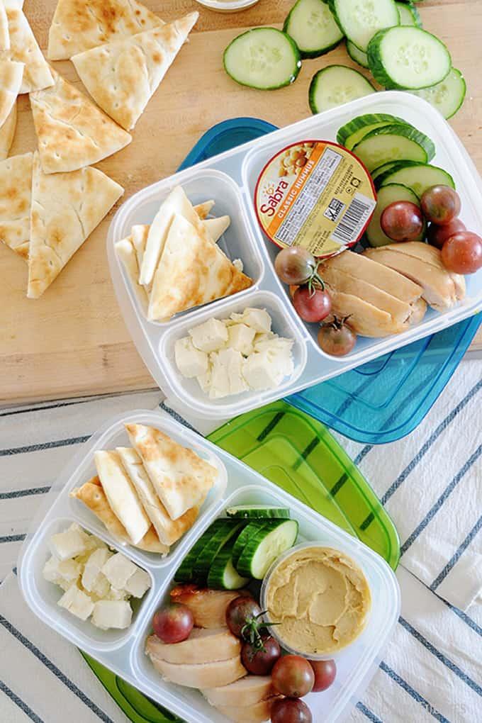 Chicken and Hummus Bistro Box