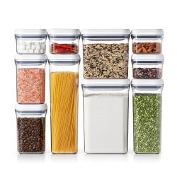 Stackable Air Containers Designed For Maximum Cabinet E And Hold All The Pantry Staples Like Flour Sugar Pasta Nuts