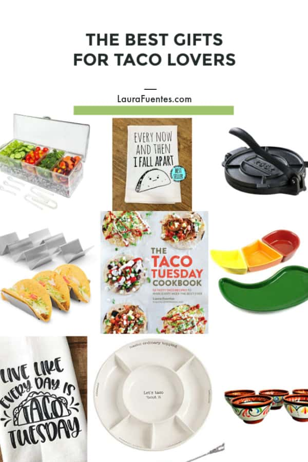 christmas gifts for taco lovers