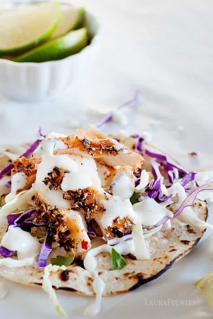 blackened fish taco recipe