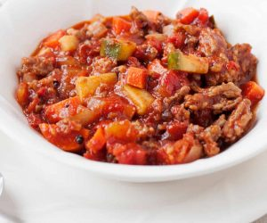 All Meat & Veggie Chili