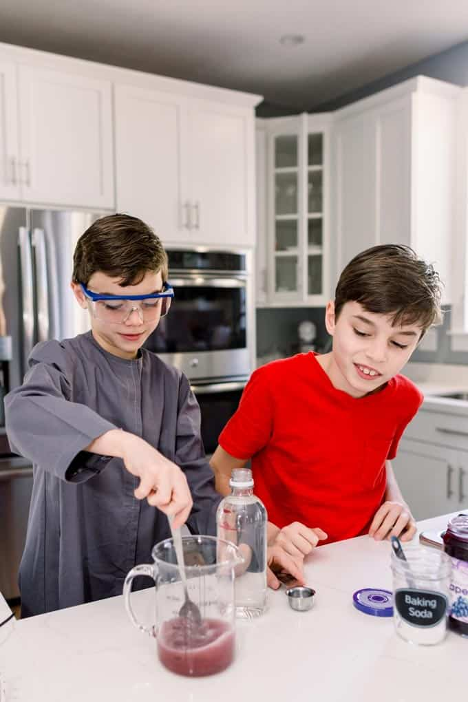 kids kitchen science