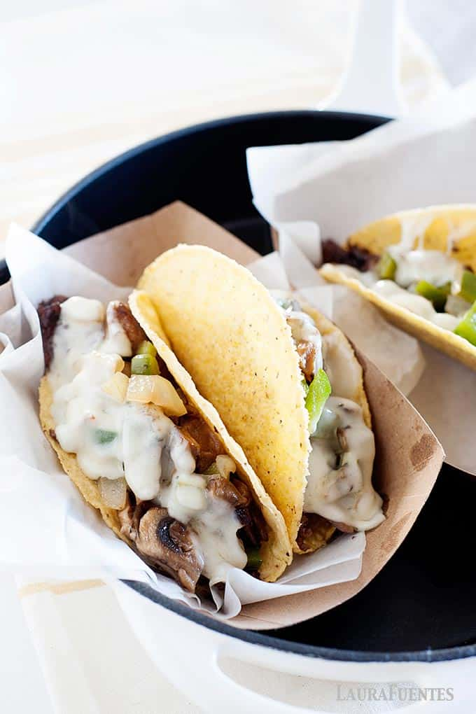 The Ultimate Philly Cheesesteak Tacos Laura Fuentes