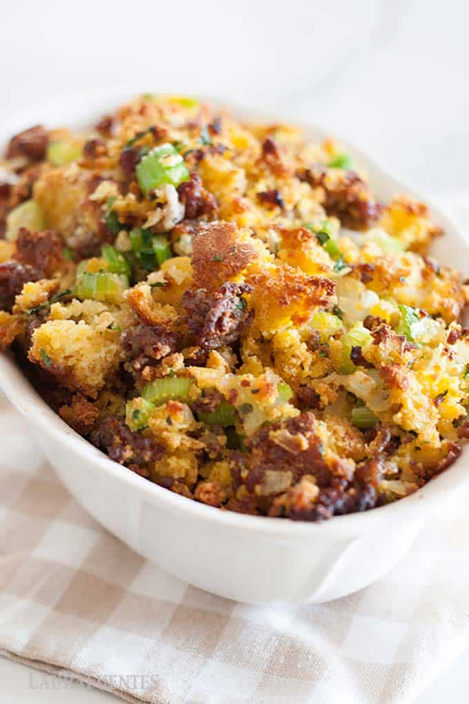 Cornbread and Sausage Stuffing