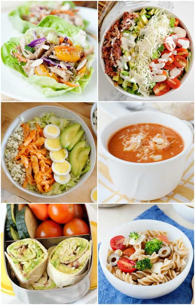 Fast Healthy Home Lunch Ideas Laura Fuentes