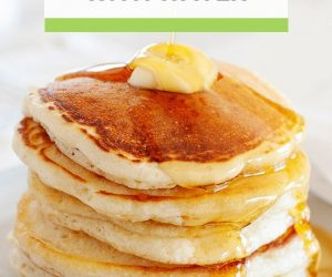 Image: Stack of pancake with butter