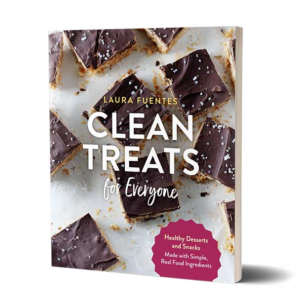 copy of the clean treats for everyone book standing upright