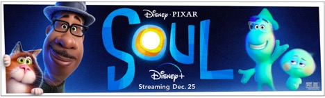 characters from Disney's Soul movie with streaming information