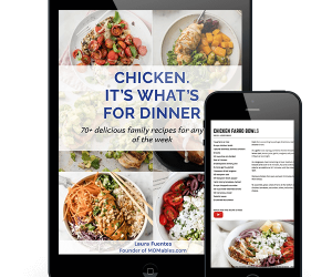 chicken ebook displayed on an ipad and phone screen