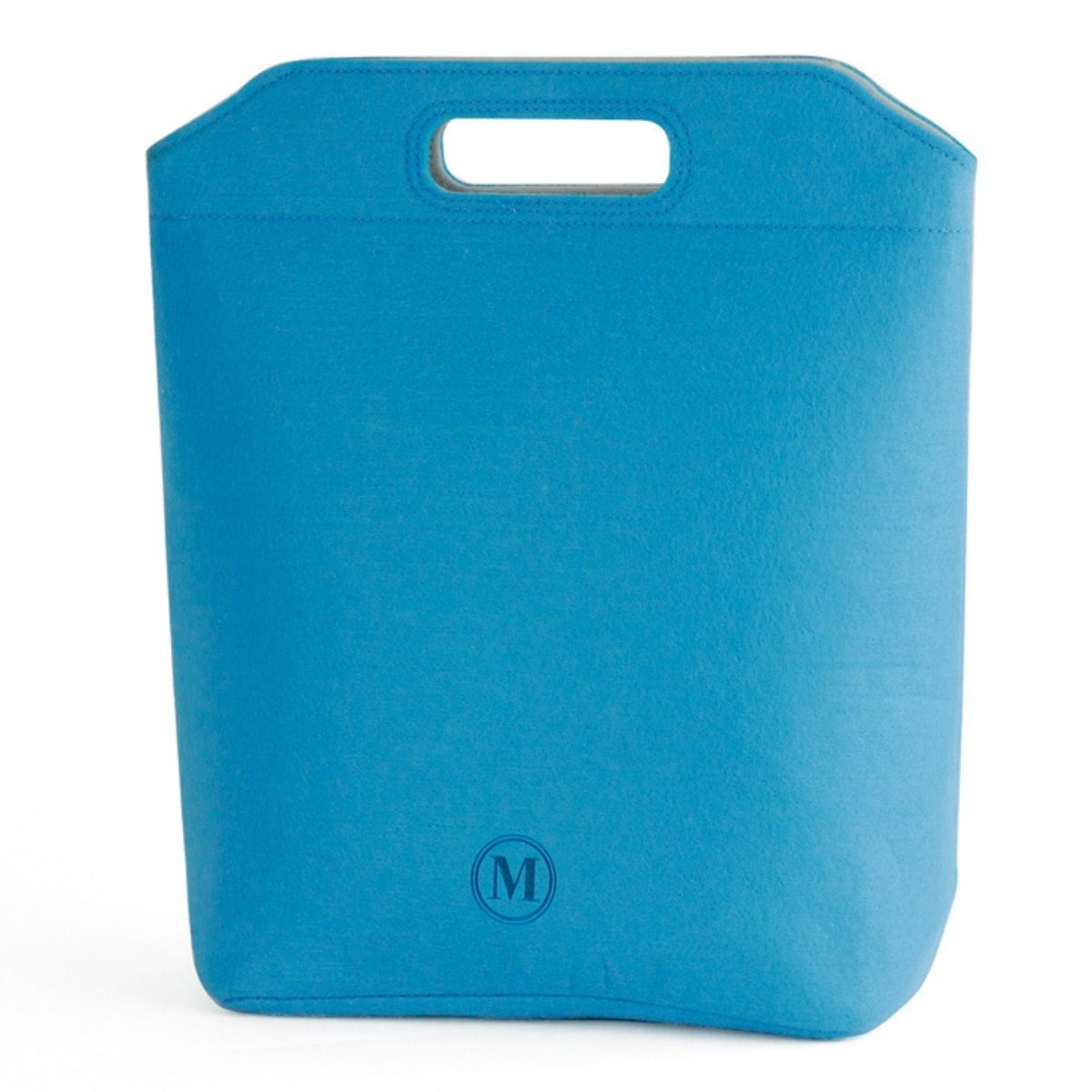 blue minimal lunch bag for adults