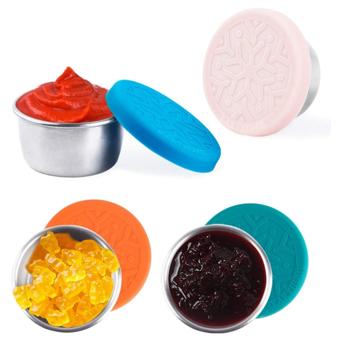 dressing containers