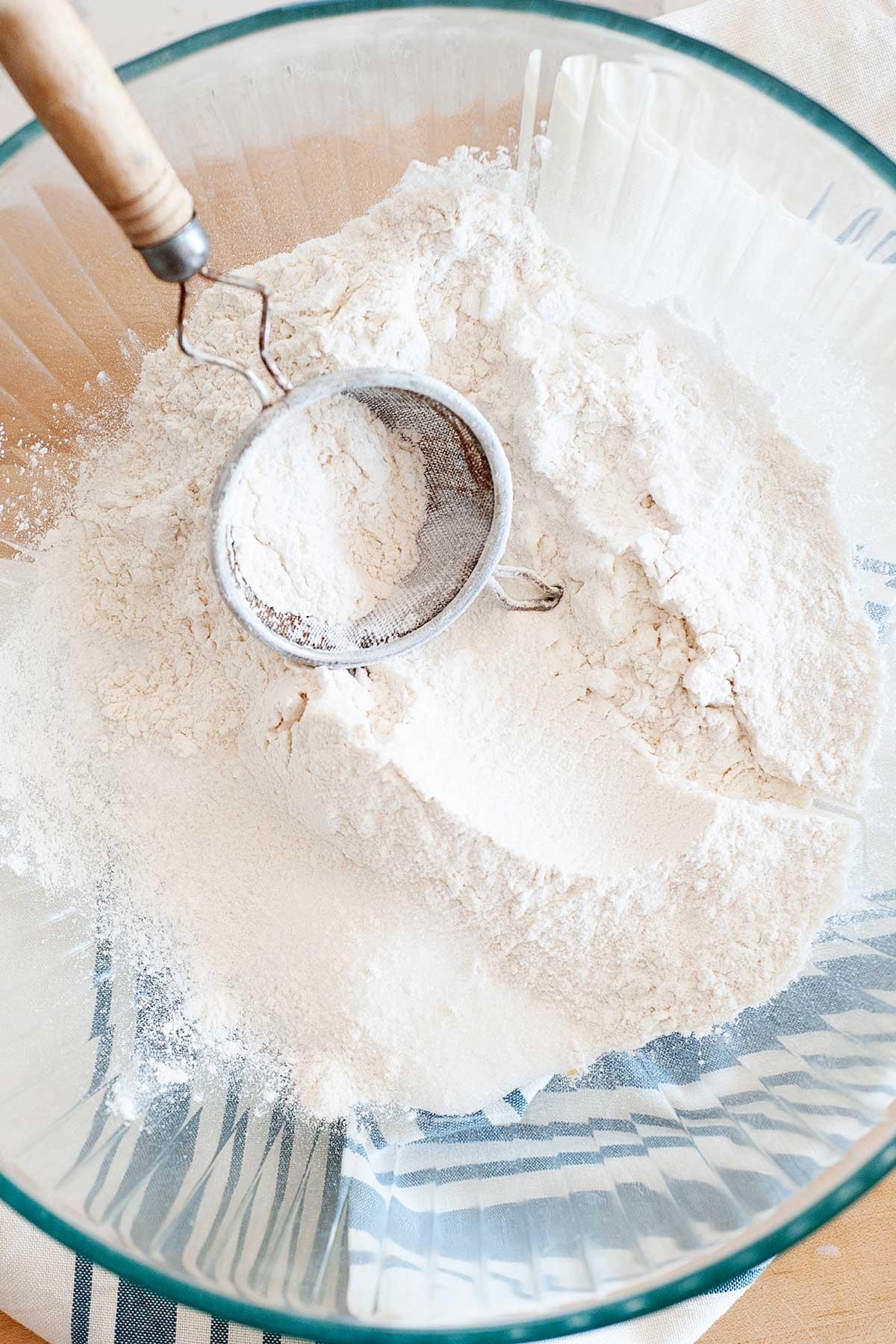 Image: Bowl of flour.